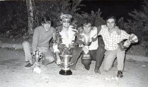 Jimkana y subida a Ponteceso 1973,2º clasificado